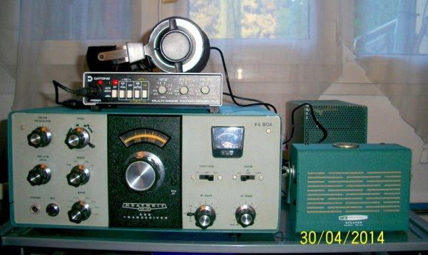 le  rêve   d'un homme amateur Radio