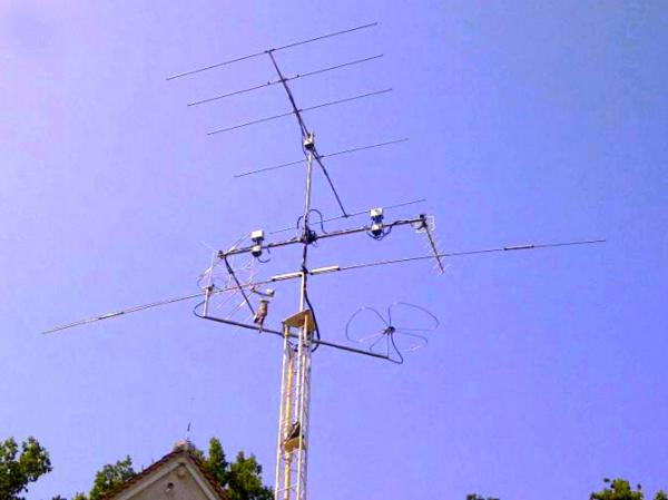 Antenne radioamateur 50Mhz , 144 Mhz et 432 Mhz