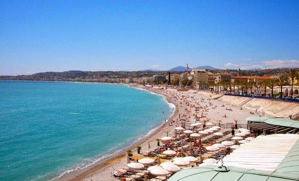 entre mer ciel et soleil Nice méditerrané