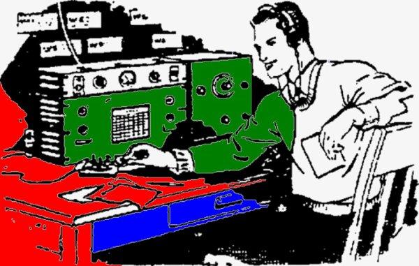 passé  votre examen de radioamateur nous  avons besoin de vous ce monde merveilleux du radioamateur va disparaître avec toute ce nouvelle   technologie