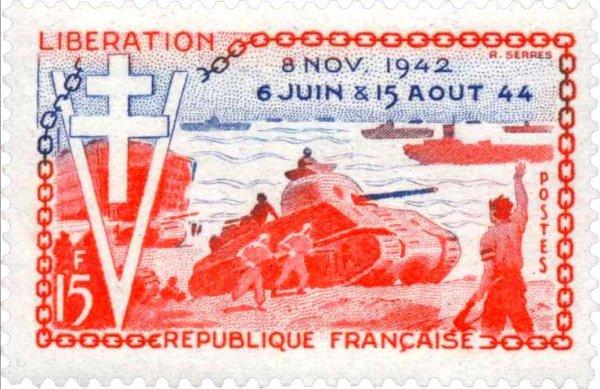 Le 15 août 1944, 450 000 hommes débarquèrent sur les plages du Var