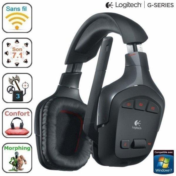 mon fils a changé son micro casque donc j'ais récupére Logitech Wireless Gaming Headset G930 wifi qui et très fonctionnelle avec un écoute magnifique