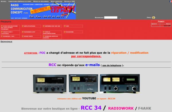 Bienvenue sur notre boutique en ligne - RCC 34 / RADIOWORK / F4AHK... j'ai enfin trouvé ma pièce pour mon FT-897 grâce a marc un ami radio