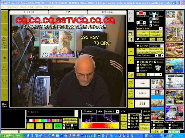 Monde La SSTV