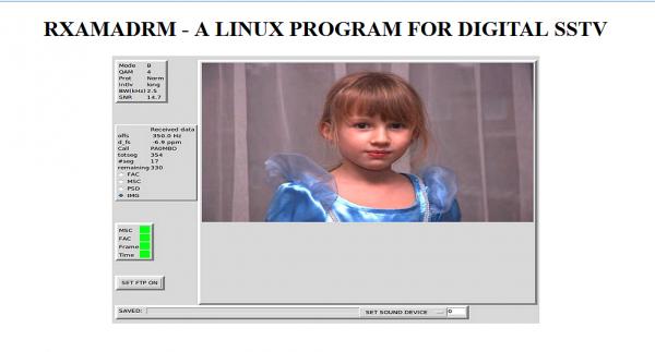 SSTV sur Linux ... ..Ubuntu