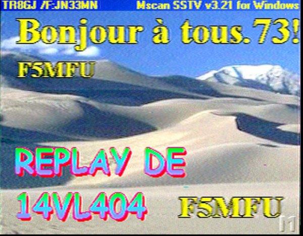 la révélation de la SSTV images par le son ce tout un histoire en analogique       LES PIONNIER  DE LA SSTV NICE COTE D'AZUR
