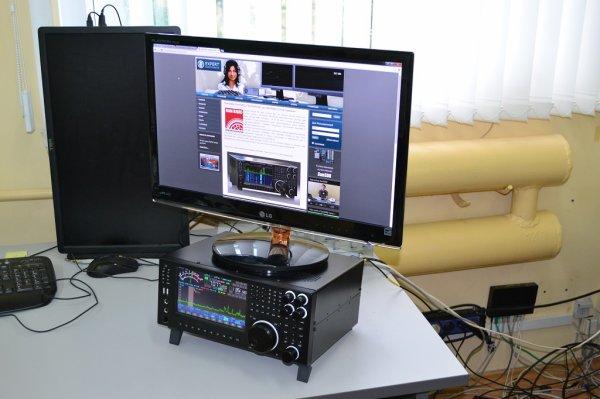 Transceiver SunSDR MB1 Prototype Presentation (Front)