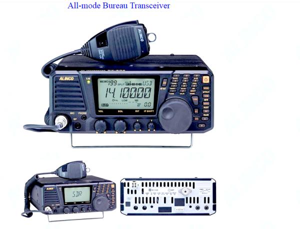 Transceiver Décamétriqye Alinco DX-SR9