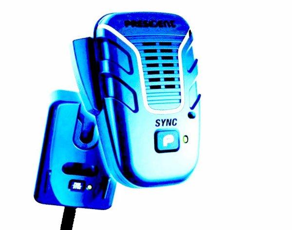 Président de Liberty Mic - Microphone sans fil pour le président Stabo CB RADIO m. 6pol