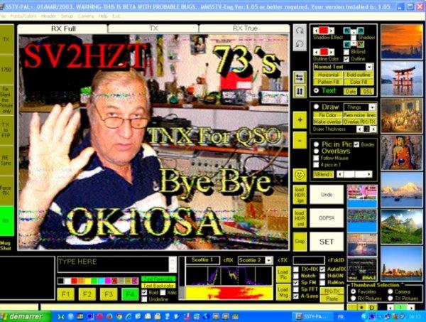 images SSTV du jour   lundi 20 octobre 2014 a 16h18 sur Band 20M14.230.00 USB de F-11874 NICE FRANCE