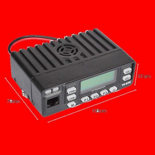 LX VV-809 VHF / UHF 136-174 / 400-470MHz Kit Dual