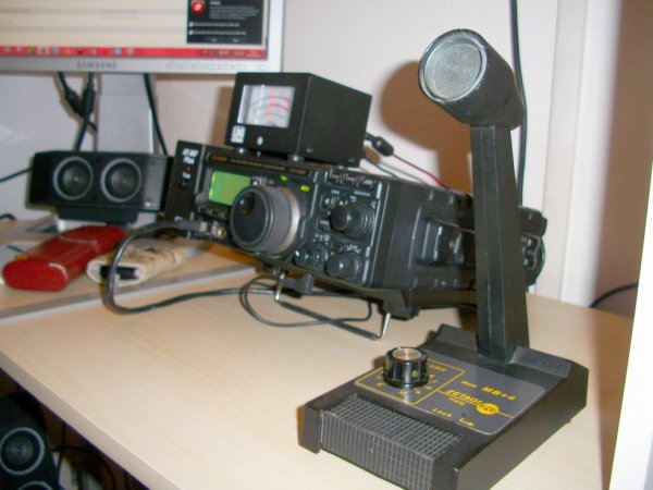 MERCI a l'ami Christophe ami radio ma voir brocher mon MB+4 an RJ45 premier QSO avec la Grèce  QRK 59 Date 25/10/2014 a15h45