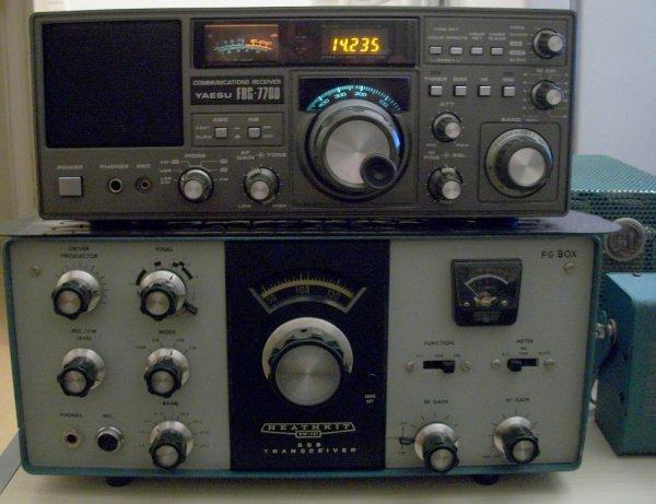 le Yaesu FRG7700.....restauration nettoyage en profondeur pour YAESU FRG-7700 1975-1980  ce un généreux donateur un ami radioamateur qui a QRT les émission pour raison familiales ce mythique le Yaesu FRG 7700  que tous SWL a   Rêve   d'avoir