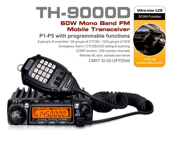ma nouvelle acquisition mon nouveau VHF TYT TH-9000D   VA BIEN TAU arrive