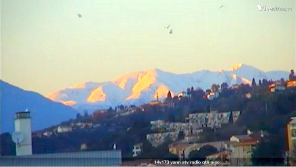 aujourd'hui 18:05 22/02/2015 Alpes du sud neige l'abondance et le soleil en prime vidéo LIVE de 14V173 YANN