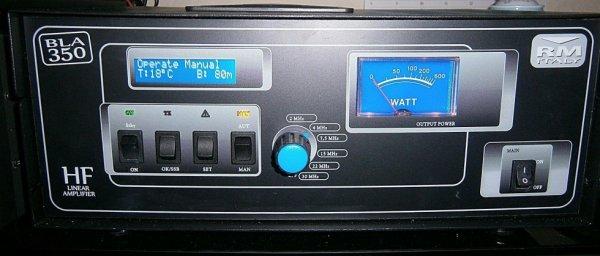 M BLA 350 de 1,8 à 30 MHz Toutes mode 300W amplificateur linéaire Solid State - Nouvelle version