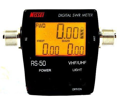 Papeterie ROS-mètre numérique et la puissance avec lecture rapide de la puissance et RE sans étalonnage. Avec une gamme de fréquences 136/174 400/470 Mhz Mhz.