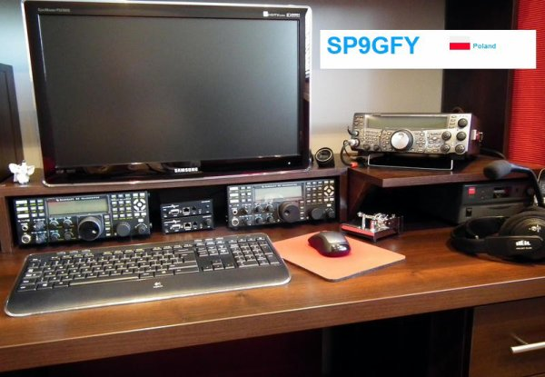 RX de F-11874 SUR 14.222.00 Band 20m USB S9 R5