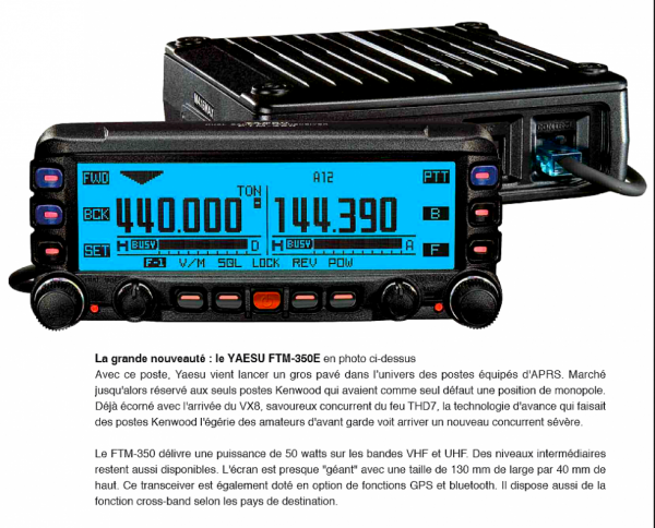 Yaesu FTM-350R