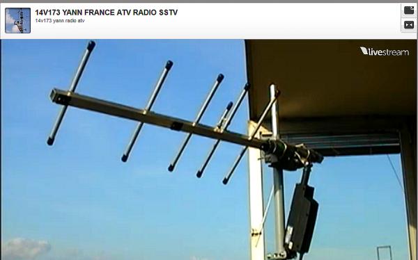 antenne 446.00 avec moteur mise a l'horizontale et  verticale réalisée par 14V173 YANN DE NICE