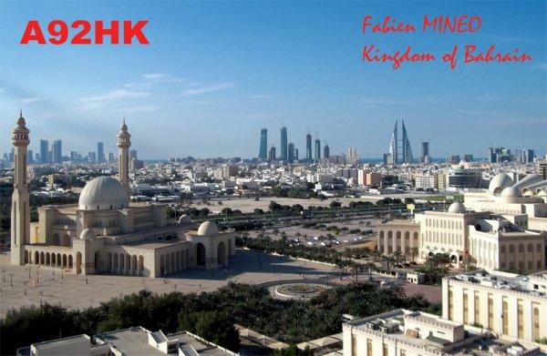 A92HK Bahrain  Fabien