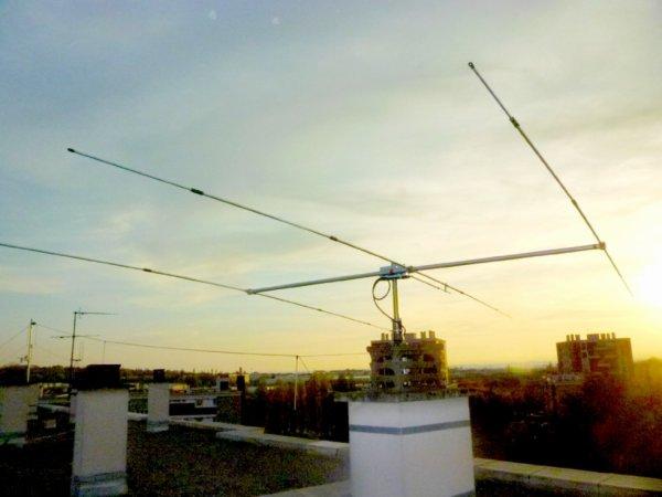 Sirio Sy27-3 3 éléments Yagi faisceau Cb / 10M antenne