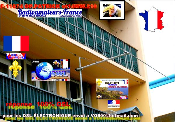 Aujourd'hui 20/06/2015 10h00 AM heur francaise un bonne propagation sur la Band 11m