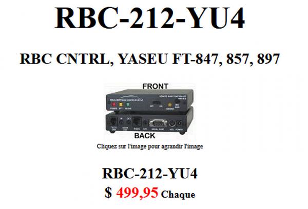 MFJ RBC-212 : interface de commande à distance