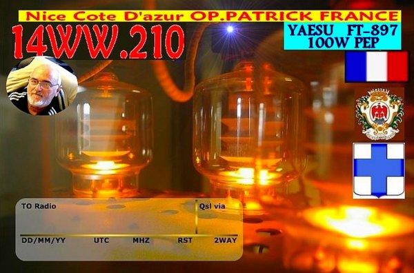 14WW.210 OP.PATRICK  NICE VILLE VO600@hotmail.com