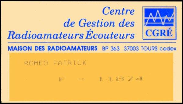 F-11874 radio ecouiteur