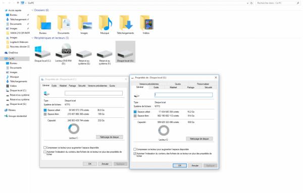 SSD se fait installer sur le pc Samsung - 850 EVO 250 Go ouverture de windows 10 très rapide