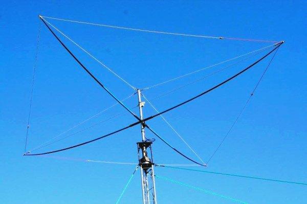 De toutes les antennes que j'ai fabriqué, celle qui m'a donné le plus de satisfaction est la skypper. D'un prix de reviens d'une quarantaine d'euros, elle m'a offert un rendement fabuleux durant plusieurs années: ce pas de moi un OM QUI LE DIS