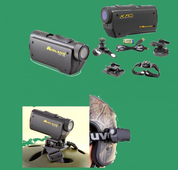 Midland xtc100 vidéo numérique caméra