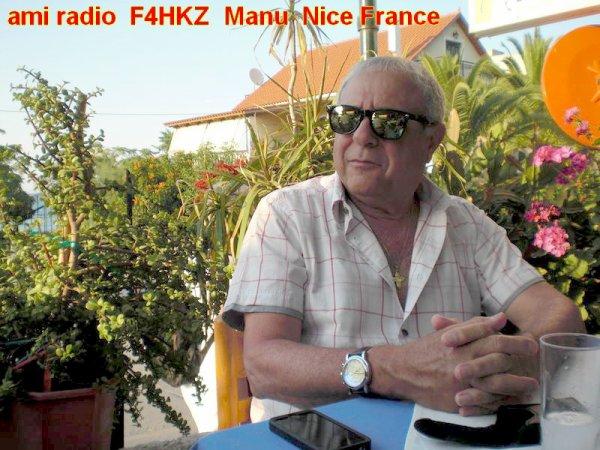 .................F4HKZ France  Nice................  a passe sa licence en 2014 est fait parti  des 11 personnes qui  ont réussi leur examen de radioamateur sur la ville de  Nice