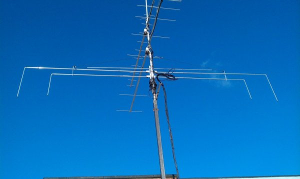 Tribander rotation dipôle 15m, 10m, 6 Mo - 21mhz, 28mhz, 50mhz-antenne bande HF