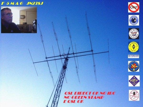 Youtube                   F5MAG de  Marseille  73 S A TOUS ET A TOUTES F5MAG test avec 4kv en hautes tension réduit 70w in 3kw out 6kv 150w in 5kw out très bon tube facteur amplification 200µ