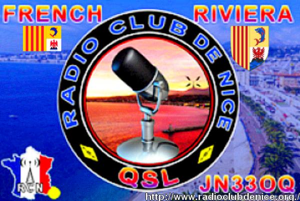 RADIO CLUB DE NICE.