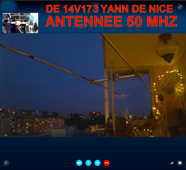 fabriquer antenne OM  maître d'½uvre de cette antenne pour le 50 Mhz  de 14V173