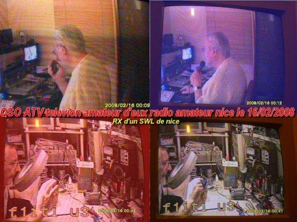 la bonne époque de la ATV télévision amateur NICE VILLE