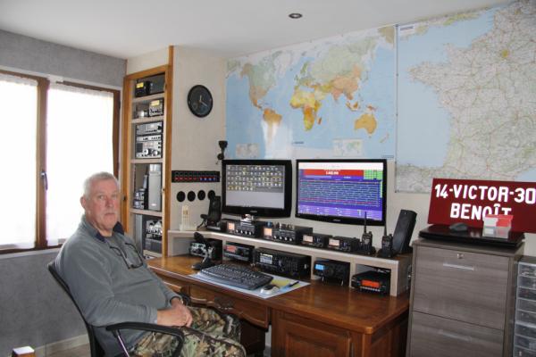 Benoit  a fini station Radio 14v303 Blois dans le 41