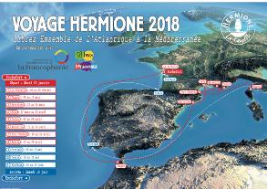 F-11874 PATRICK NICE VILLE LE 22/03/2018 spécialiste en activation TM17HF  France flag France L'Hermione