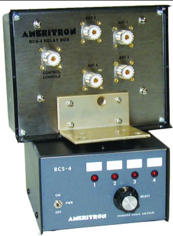 Commutateur coaxial à distance Ameritron RCS-4