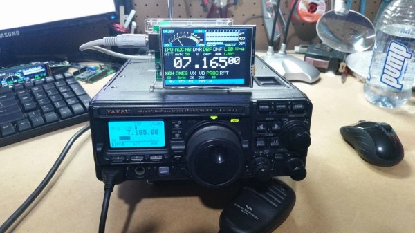 CatDisplay for Yaesu FT-817, FT-857 or FT-897 Transceivers