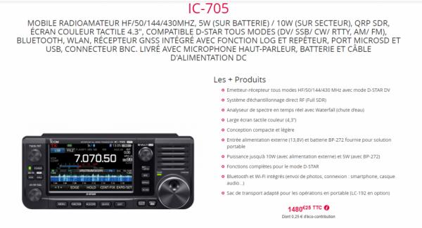 IC-705 QRP