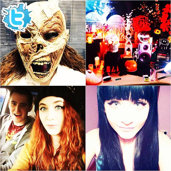 .     Découvrez en photo la soirée d'Halloween ainsi que des autres photos personnelles de la belle !         .