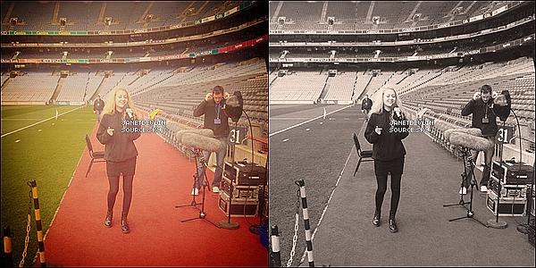 """.     Jay a posté une photo  sur Twitter, avec le message suivant : """"En route pour Dublin avec Aaron"""".      ."""
