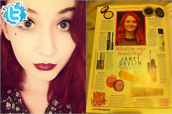 .     Découvrez deux nouvelles photos personnelles de Janet posté sur son Instagram + un scans !        .