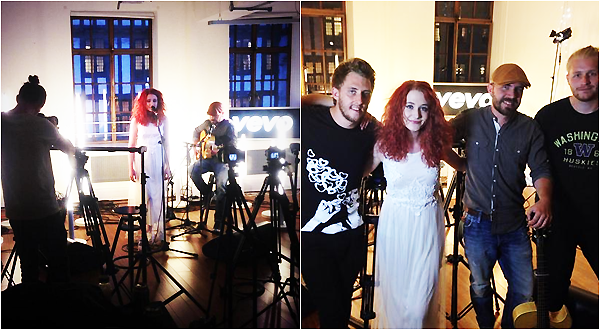 .     2014 : Janet était en soirée pour promouvoir son nouvel album et donner un concert pour VeVo !         .