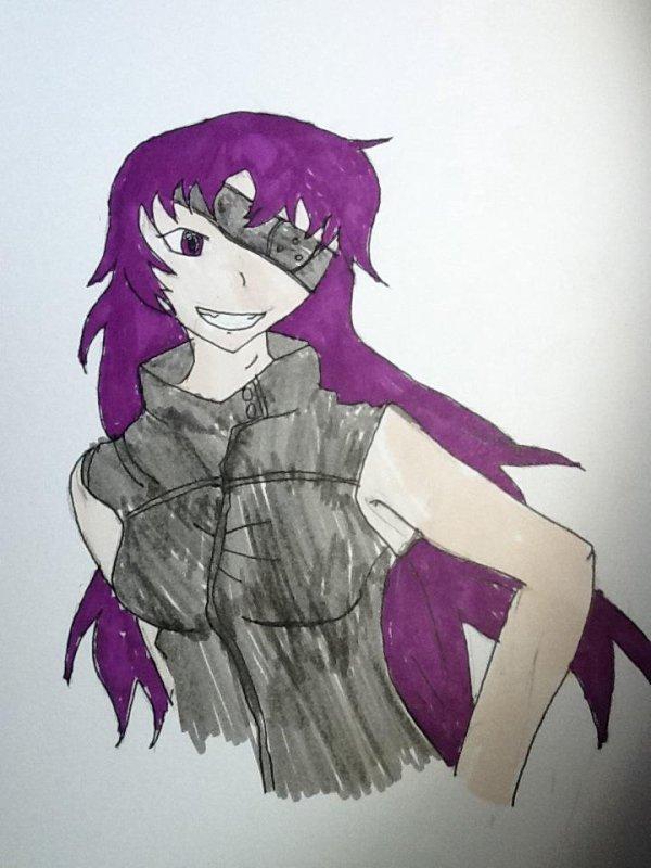 dessin de mirai nikki