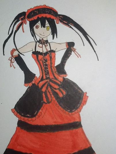 dessin de kurumi
